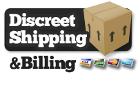 Discreet Shipping and Billing Logo